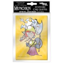 Munchkin kártyavédő női figurával
