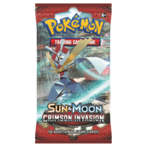 Pokémon TCG: Sun & Moon-Crimson Invasion