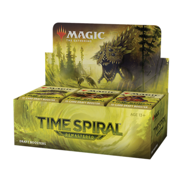 MTG: Time Spiral Remastered Booster display