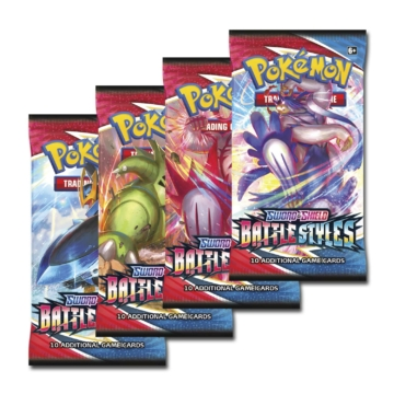 PKM - Sword & Shield 5 Battle Styles Booster