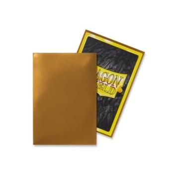 Dragon Shield Japanese kártyavédő fólia arany