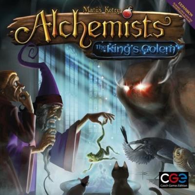 Alchemists: The King's Golem kiegészítő társasjáték
