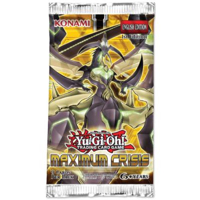 Yu-Gi-Oh! Maximum Crisis kiegészítő csomag