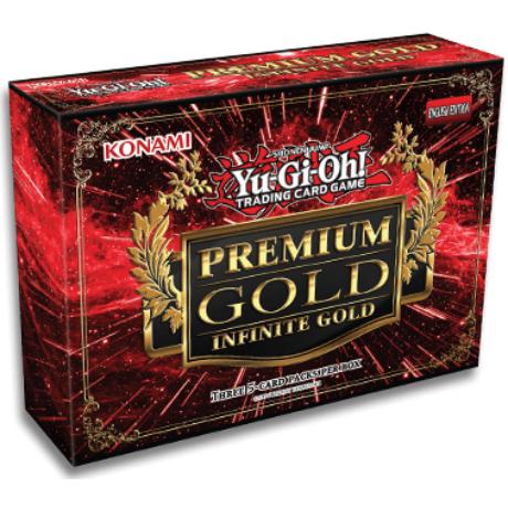 Yu-Gi-Oh! Premium Gold: Infinite Gold kiegészítő csomag