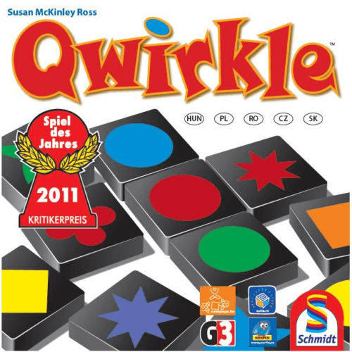 Qwirkle - Formák, színek, kombinációk!  társasjáték