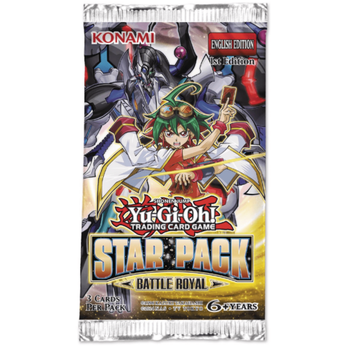 Yu-Gi-Oh! Star Pack Battle Royal kiegészítő csomag