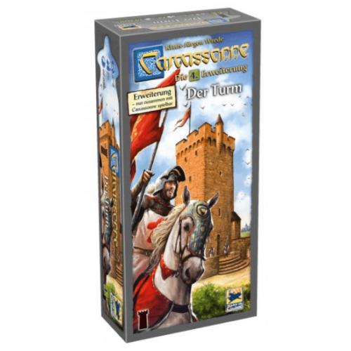 Carcassonne: A torony (4. kiegészítő)
