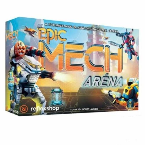 Tiny Epic Mech aréna társasjáték