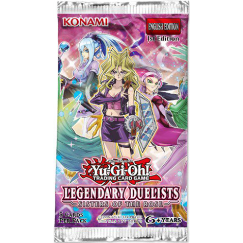 Yu-Gi-Oh! Legendary Duelists: Sisters of the Rose