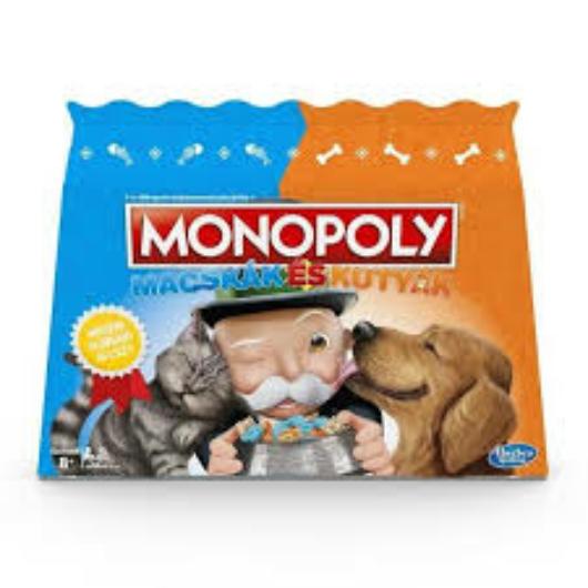 Monopoly Macskák és Kutyáktársasjáték