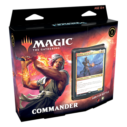 MTG: Commander Legends Commander Deck Arm for Battle