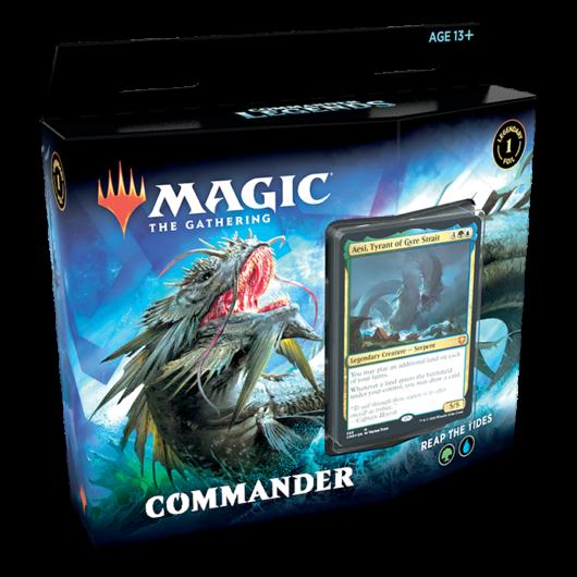 MTG: Commander Legends Commander Deck Reap the Tides