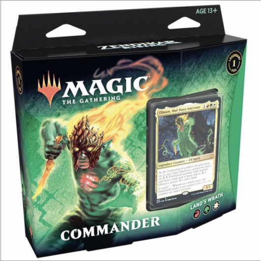 MTG: Zendikar Rising Commander Deck Sneak Attack