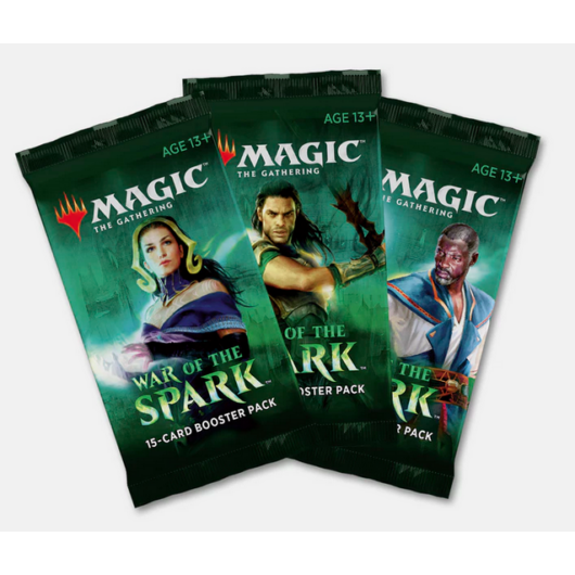 MTG: War of the Spark booster pack