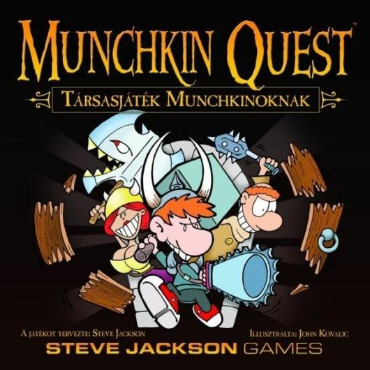 Munchkin Quest Társasjáték