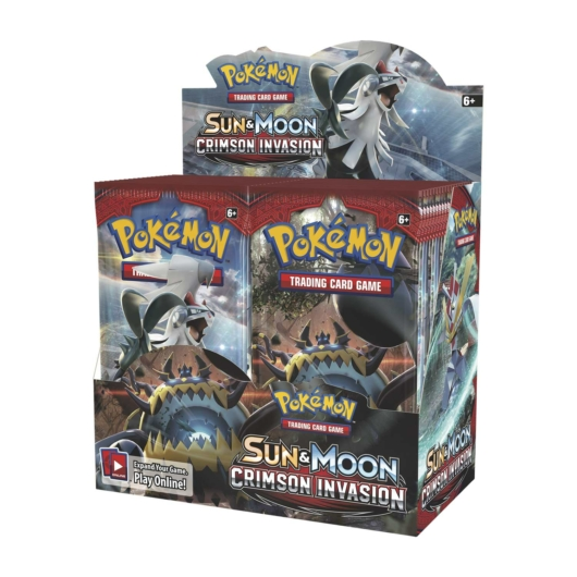 Pokémon TCG: Sun & Moon-Crimson Invasion Display