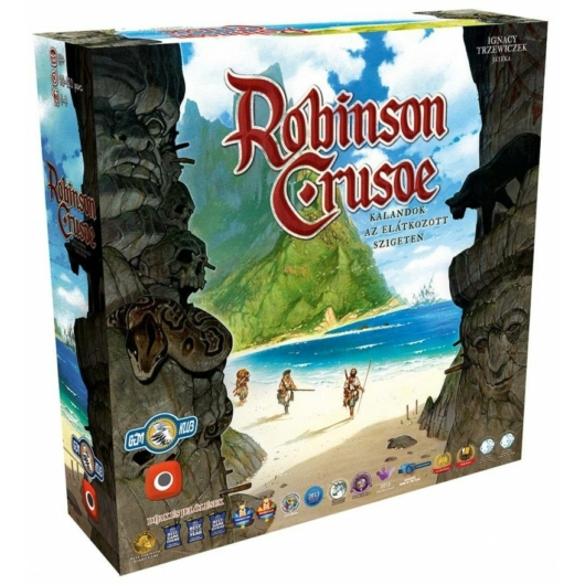 Robinson Crusoe: Kalandok az elátkozott szigeten társasjáték