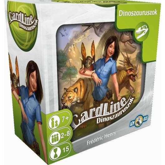 Cardline: Dinoszauruszok társasjáték