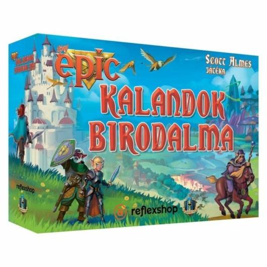 Tiny Epic Kalandok Birodalma társasjáték