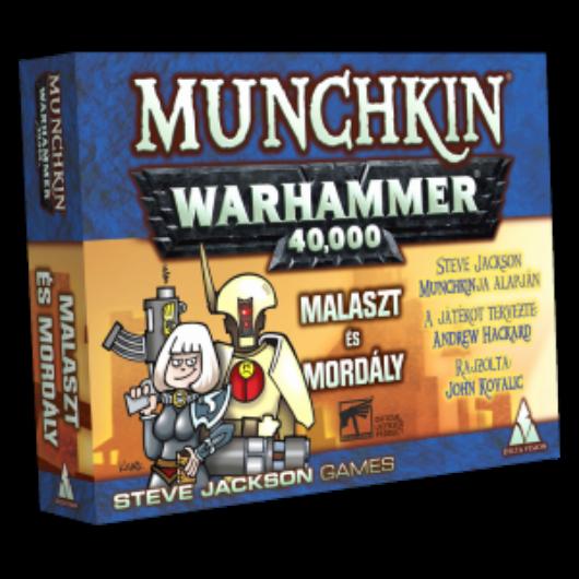 Munchkin Warhammer 40000 Malaszt és mordály kiegészítő
