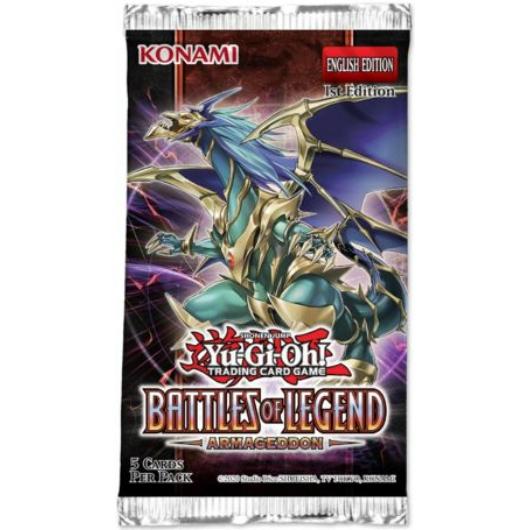 Yu-Gi-Oh! Battles of Legend: Armageddon booster