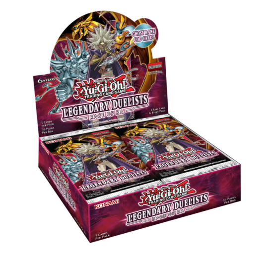 Yu-Gi-Oh! Legendary Duelists: Rage of Ra booster