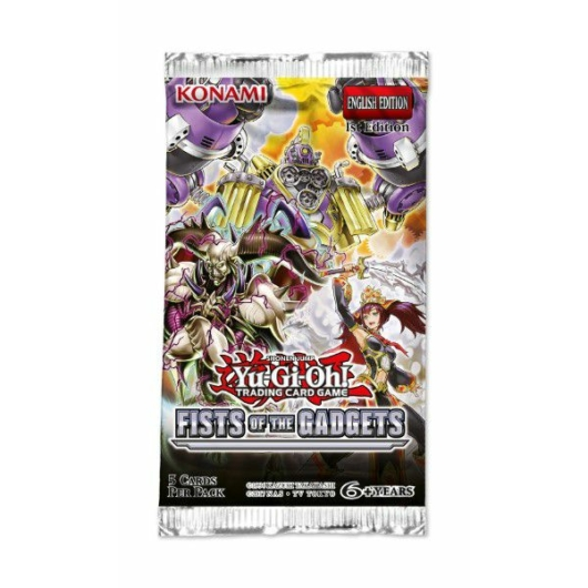 Yu-Gi-Oh! Fists of the Gadgets booster