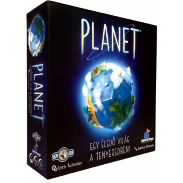 Planet - Egy éledő világ a tenyeredben! társasjáték