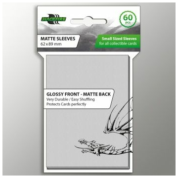Blackfire Small Sleeves - Double-Matte Clear