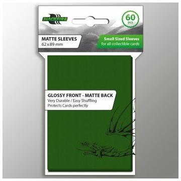 Blackfire Small Sleeves - Double-Matte green