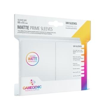 Gamegenic - Matte Prime Sleeves Fehér (100 db)