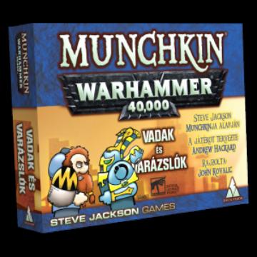 Munchkin Warhammer 40000 Vadak és varázslók kiegészítő