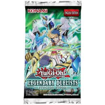 YGO - Legendary Duelists 8 - Synchro Storm Booster