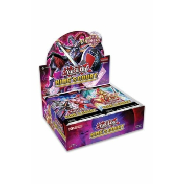 YGO - King's Court - Special Booster Display (24 Packs)