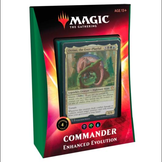 MTG: Ikoria Lair of Behemoths Commander Deck Enhanced Evolution