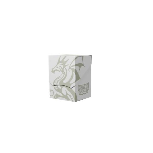 Dragon Shield Deck Shell - White/Black