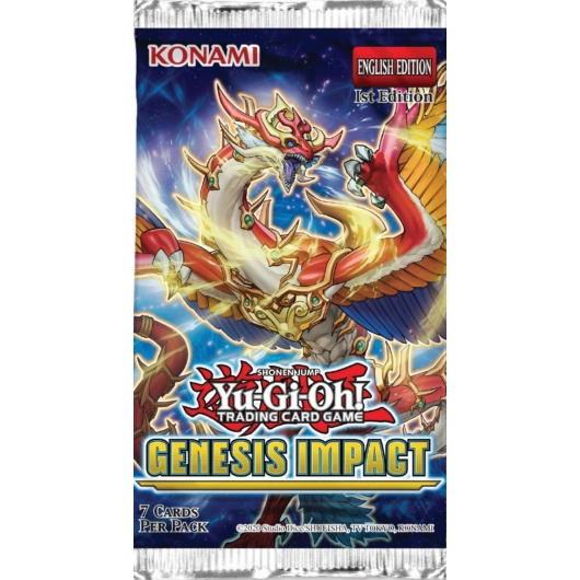 Yu-Gi-Oh! Genesis Impact booster
